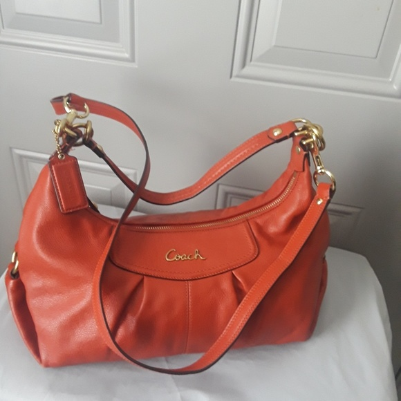 0092869a81 Coach Bags | Ashley Leather Hobo Crossbody Bag F19761 | Poshmark